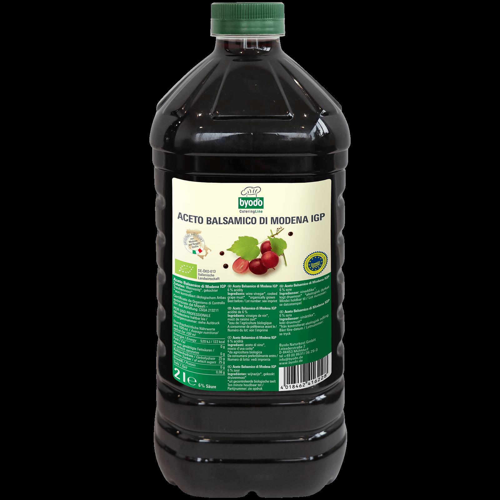 Bio-Aceto Balsamico di modena 2l