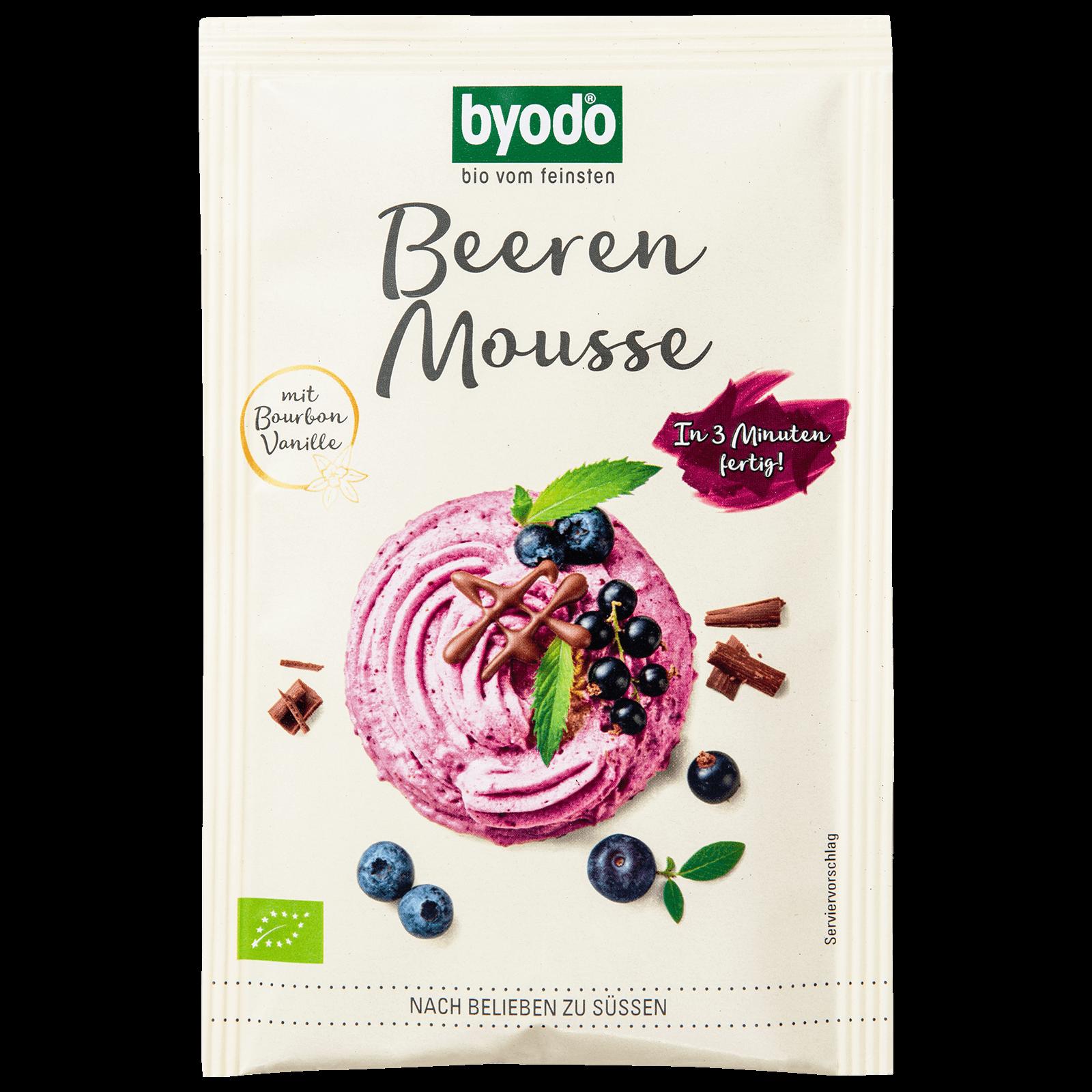Bio-Beeren Mousse Pulver