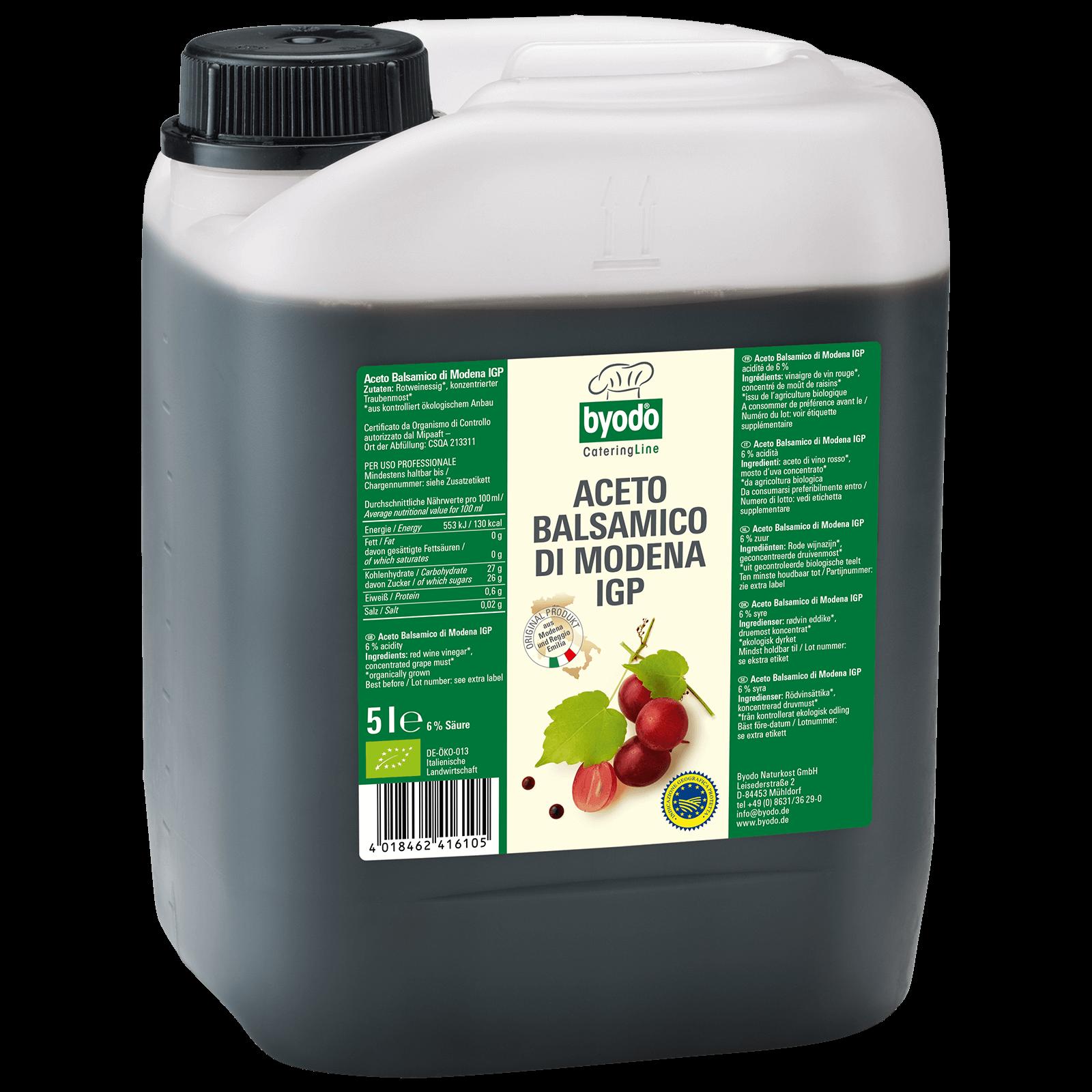 Bio-Aceto Balsamico di modena 5l