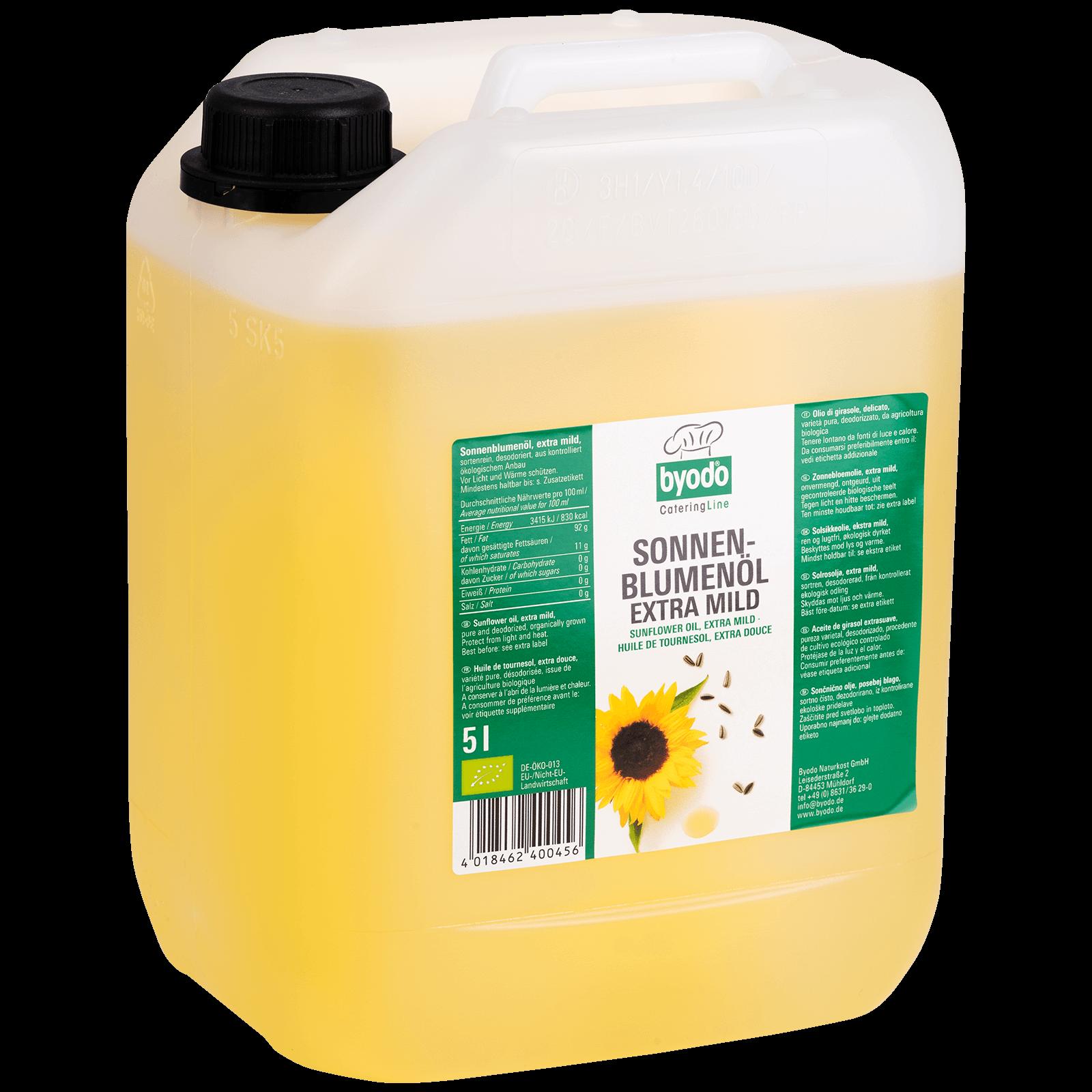 Bio-Sonnenblumenoel 5l