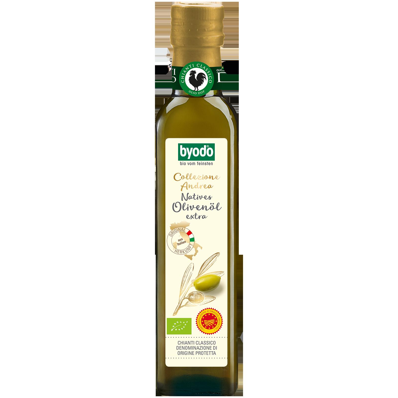 Bio-Olivenoel nativ extra Collezione Andrea DOP 250 Milliliter