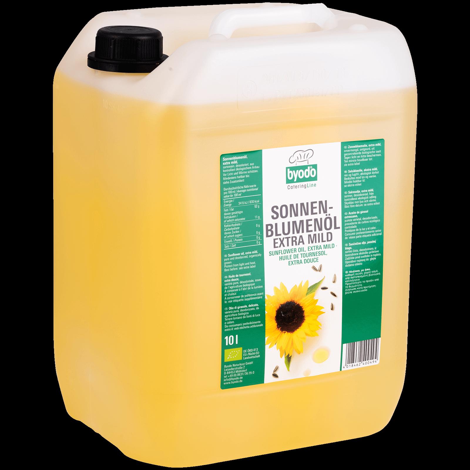 Bio-Sonnenblumenoel 10l