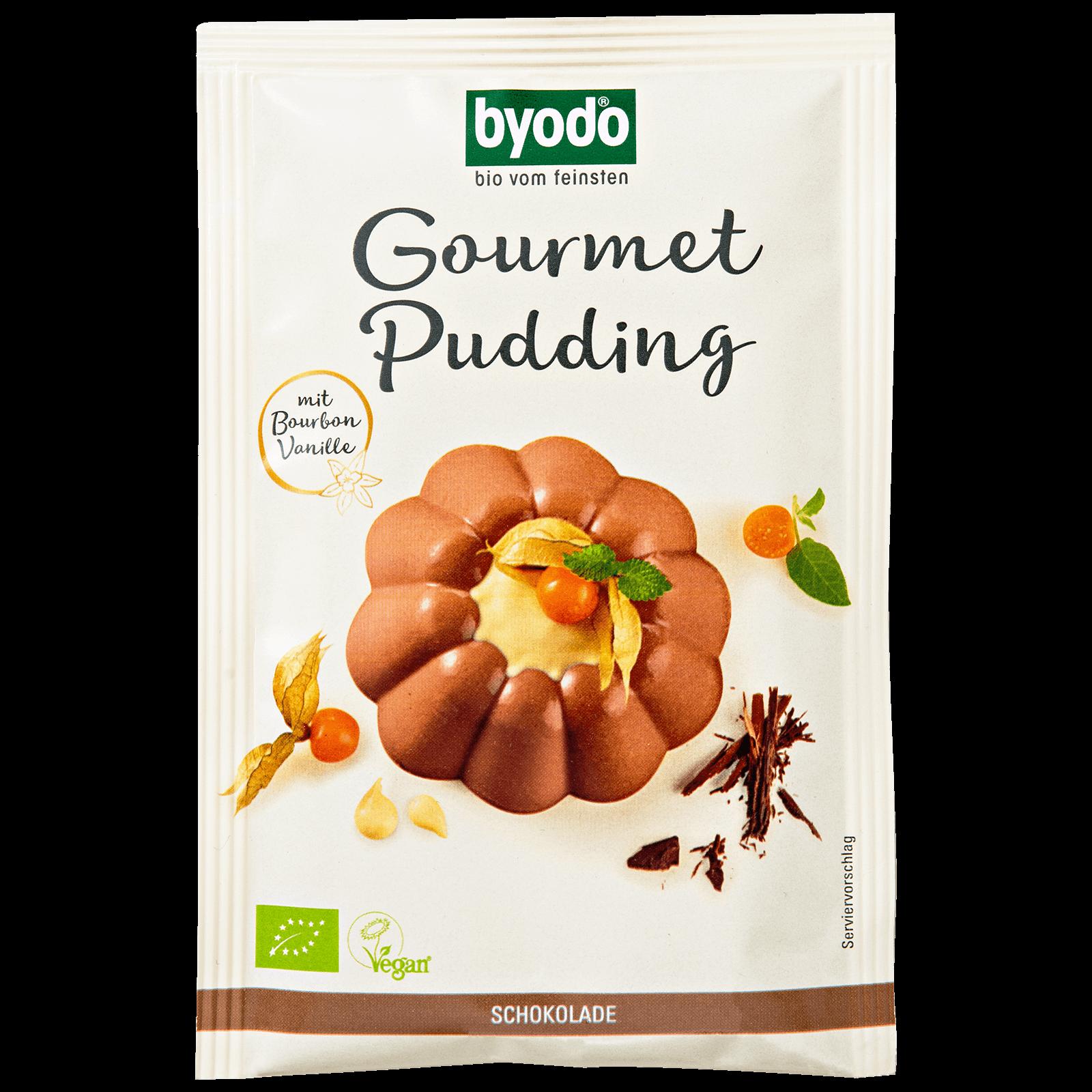 Bio-Gourmet Pudding Schokolade fuer 500 Milliliter Milch