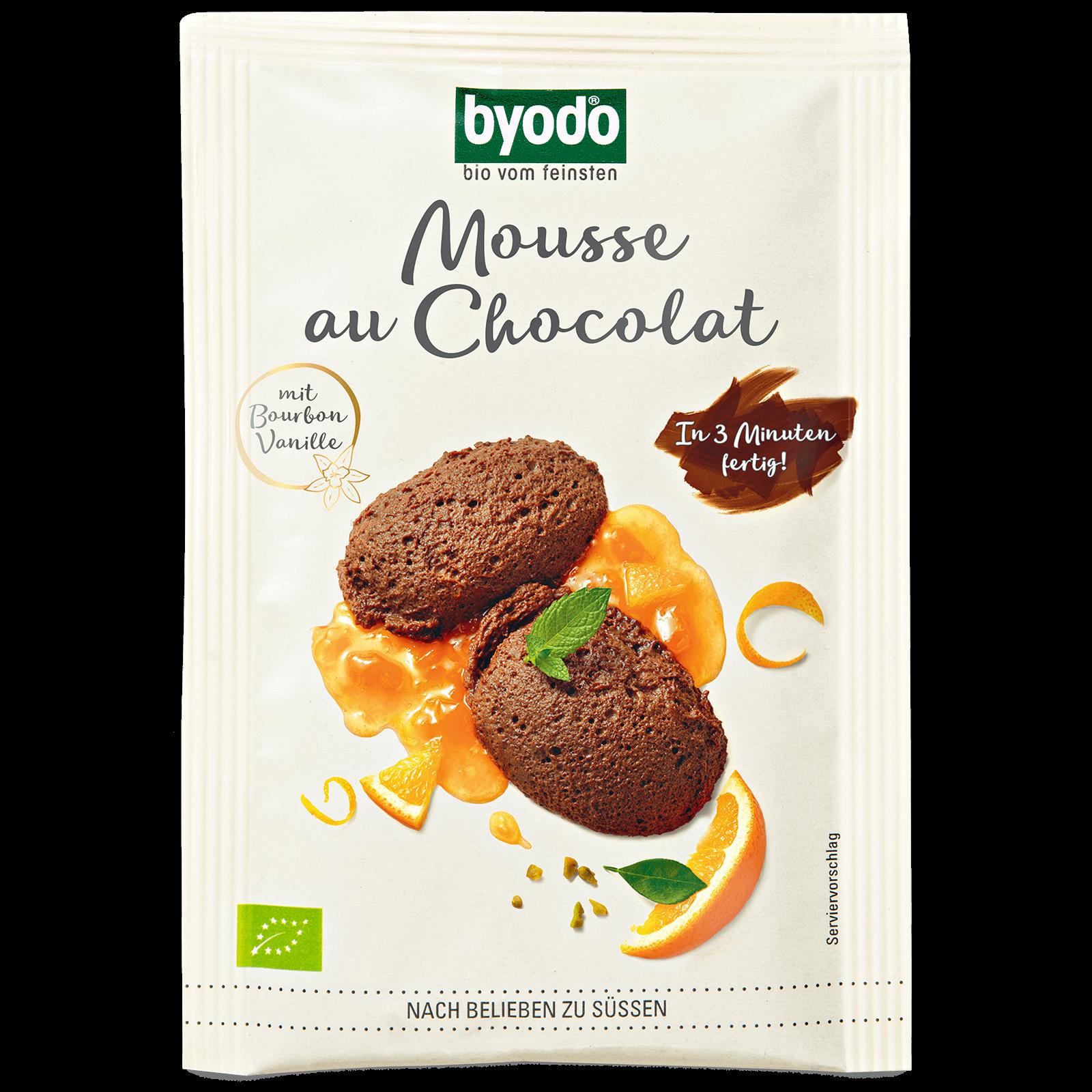 Bio-Mousse au Chocolat Pulver