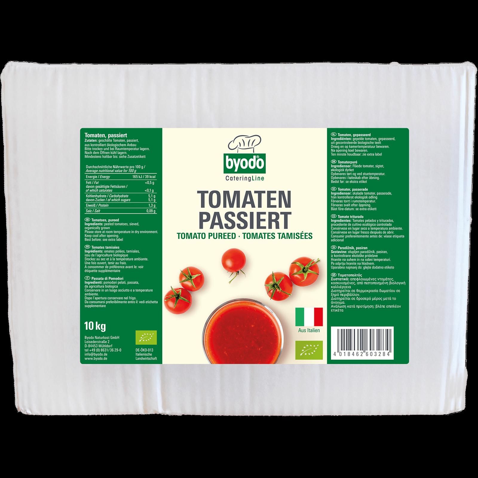 Bio-Tomaten passiert 10kg