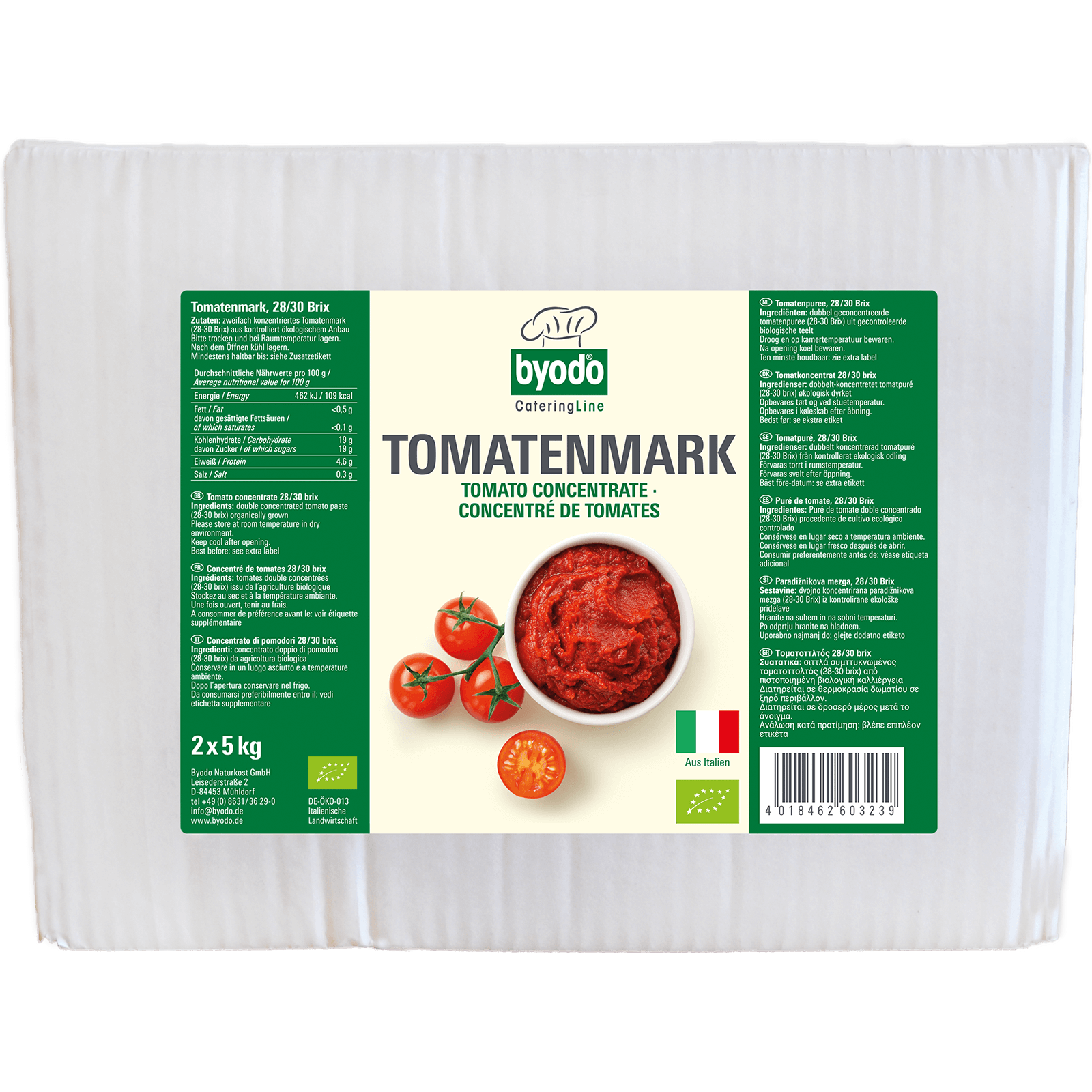Bio-Tomatenmark 2x5kg