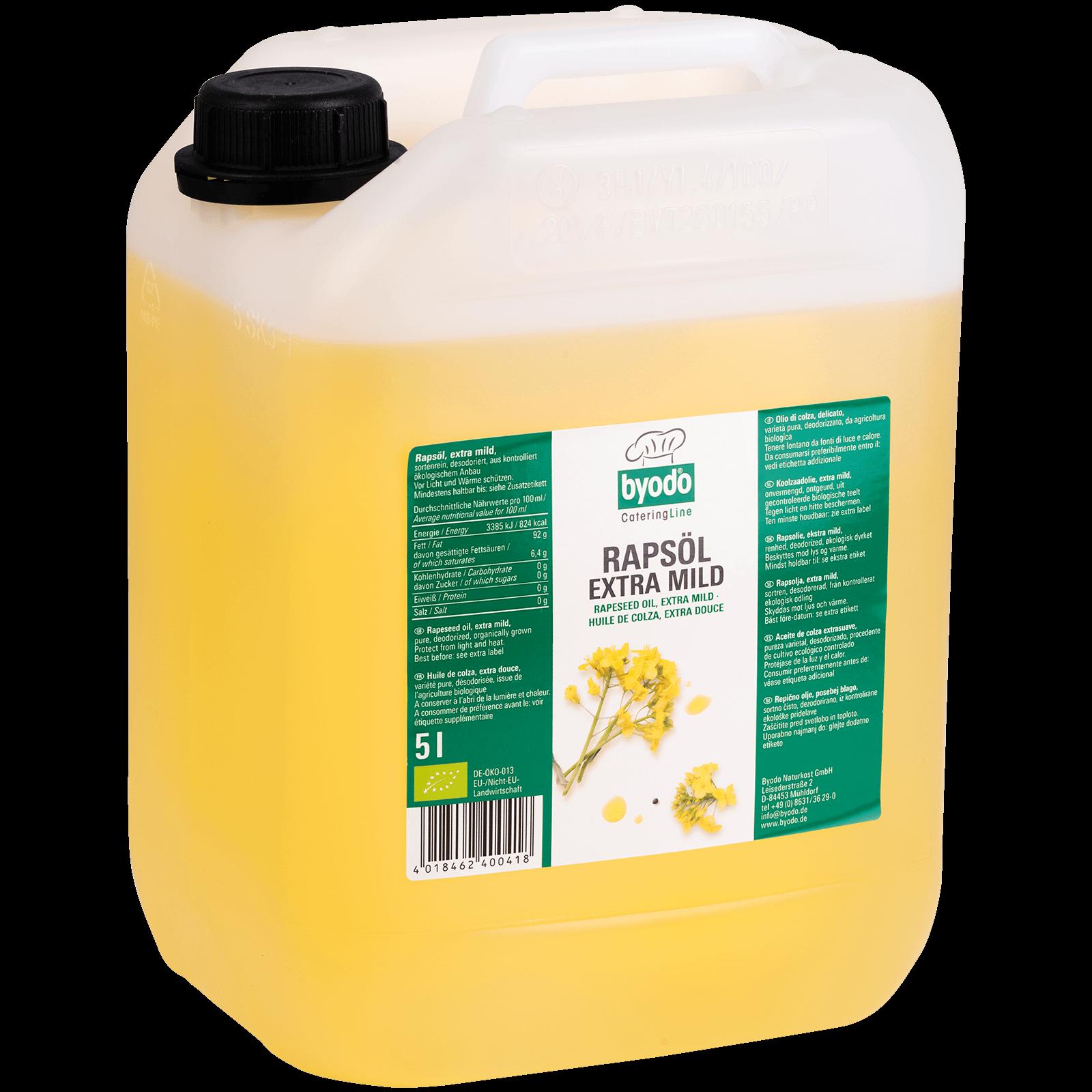 Bio-Rapsoel extra mild 5l