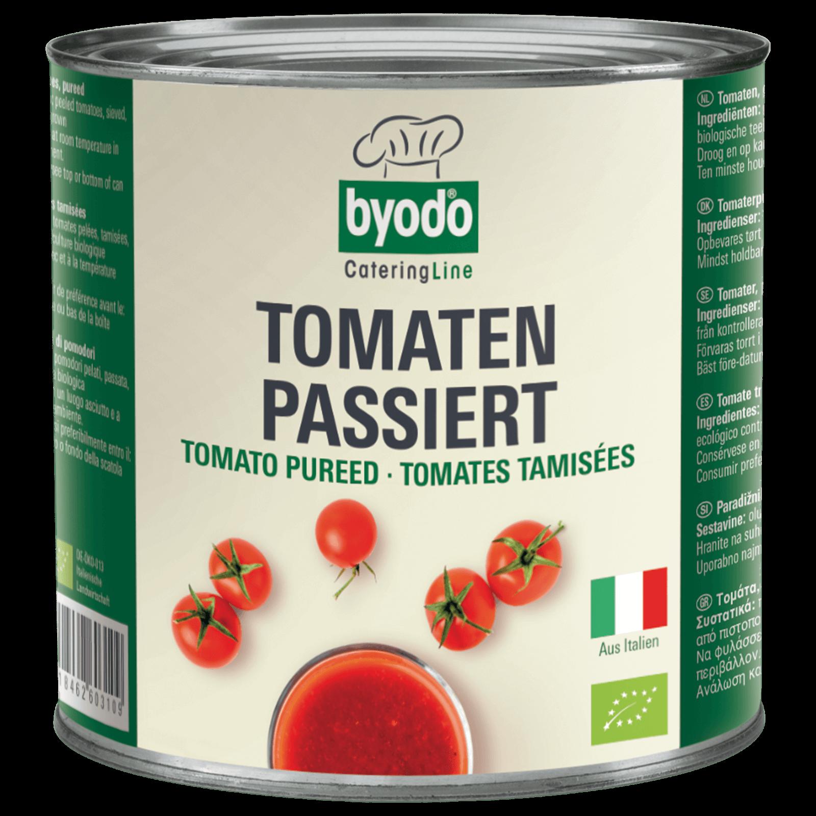 Bio-Tomaten passiert 2550g